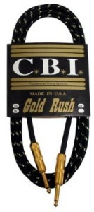 CBI Gold Rush Guitar Cable Review